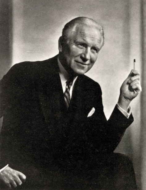 Edward Johnson is one of Guelph's most famous people. He was an internationally recognized opera singer and his later years served as Chairman of the Royal Conservatory of Music in Toronto.