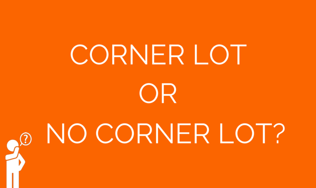 The Pros And Cons Of Buying A Corner Lot